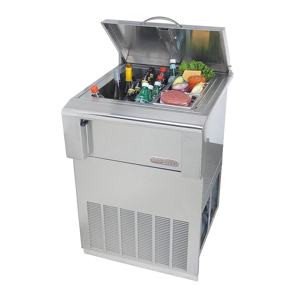 Alfresco 24 Inch Versa Built In Counter Top Refrigerator