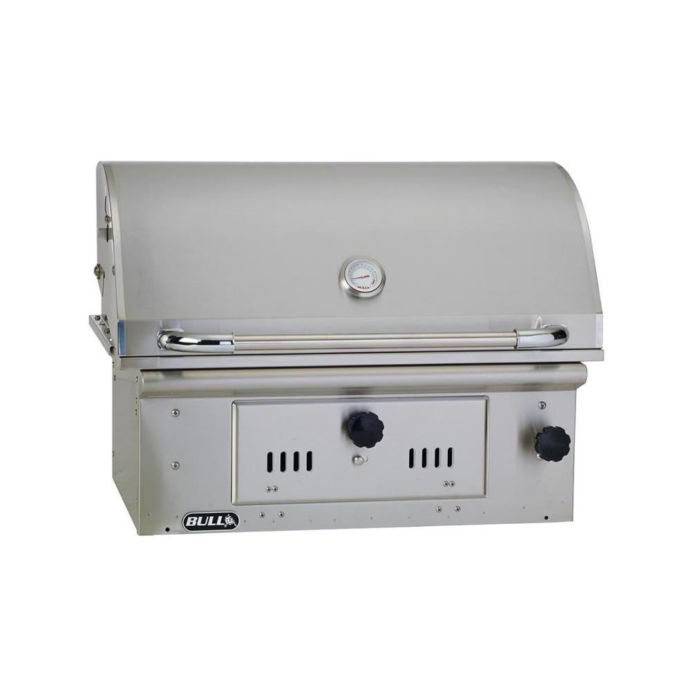 Bull Bison 30 Inch Charcoal Built In Grill 67529 Luxapatio