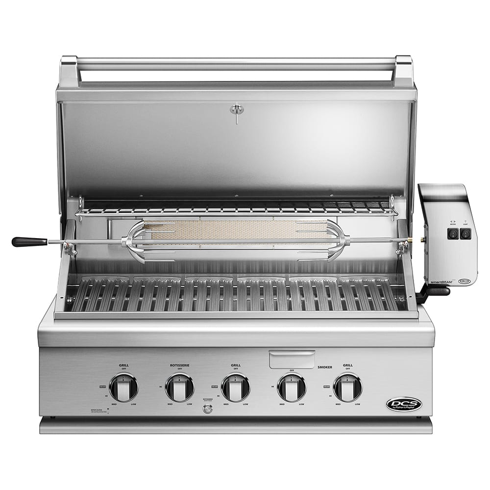 Dcs 36 Inch Built In Gas Grill With Rotisserie Bgc36
