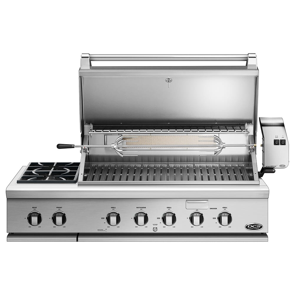 Dcs 48 Inch Built In Gas Grill With Side Burner And