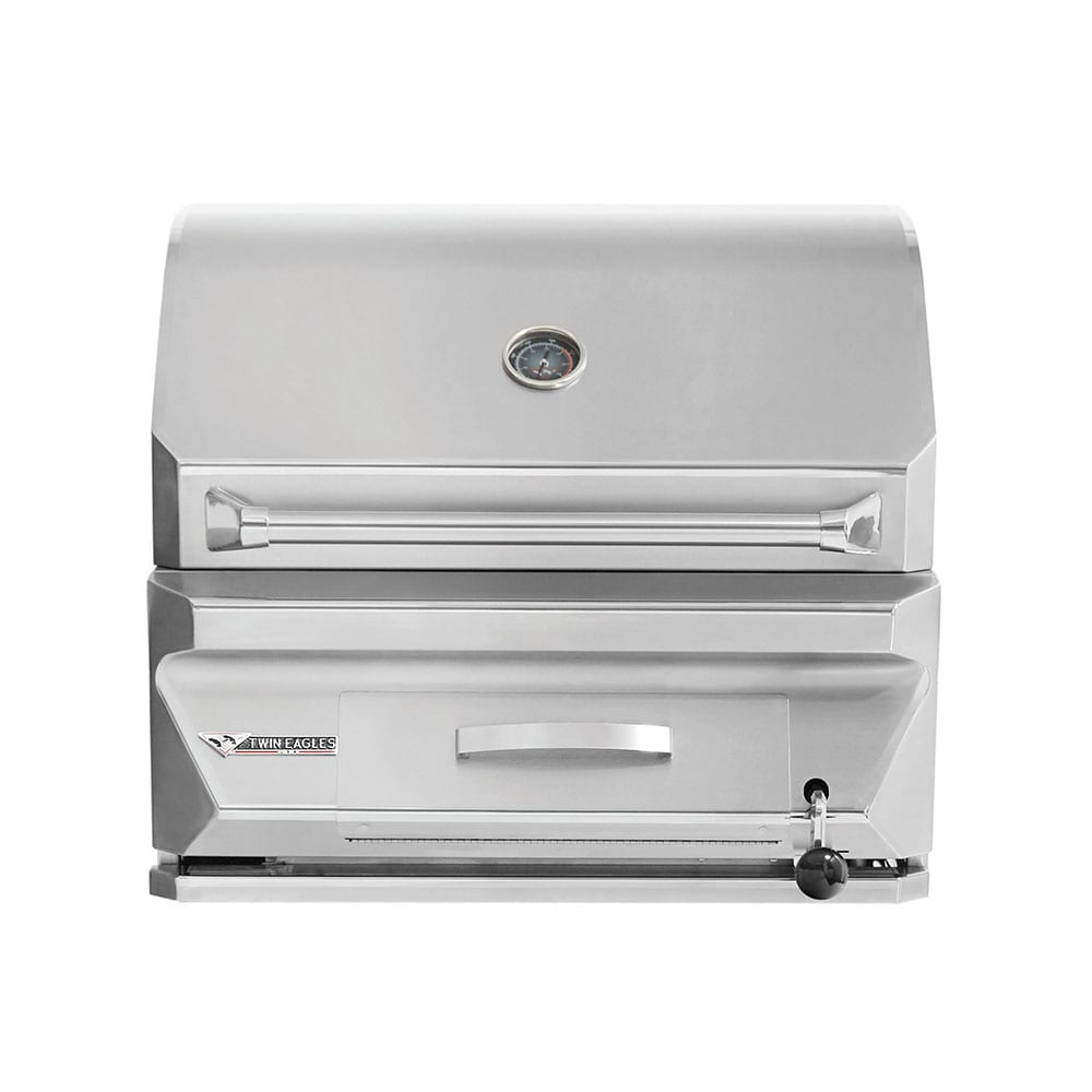 Twin Eagles 30 Inch Built In Charcoal Grill Tecg30 C
