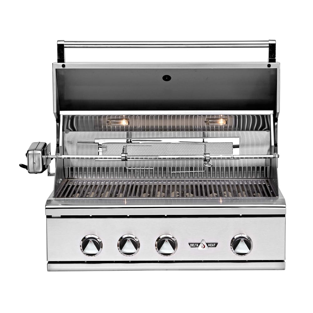 Delta Heat 32 Inch Built In Gas Grill Luxapatio Com