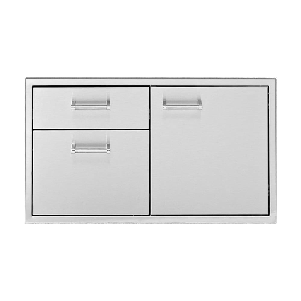 Delta Heat 36 Inch Door 2 Drawer Combo Dhdd362 B Luxapatio