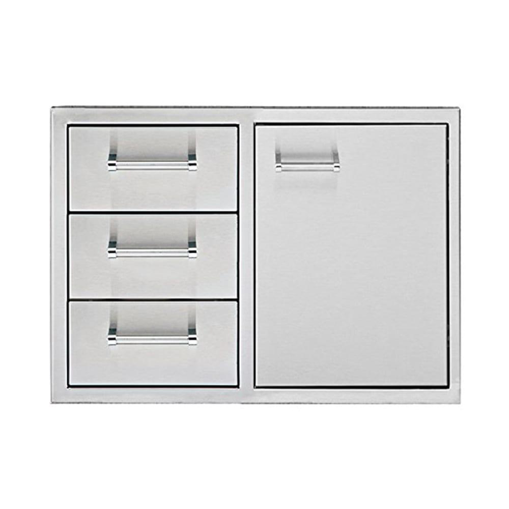 Delta Heat 30 Inch Door 3 Drawer Combo Dhdd303 B Luxapatio