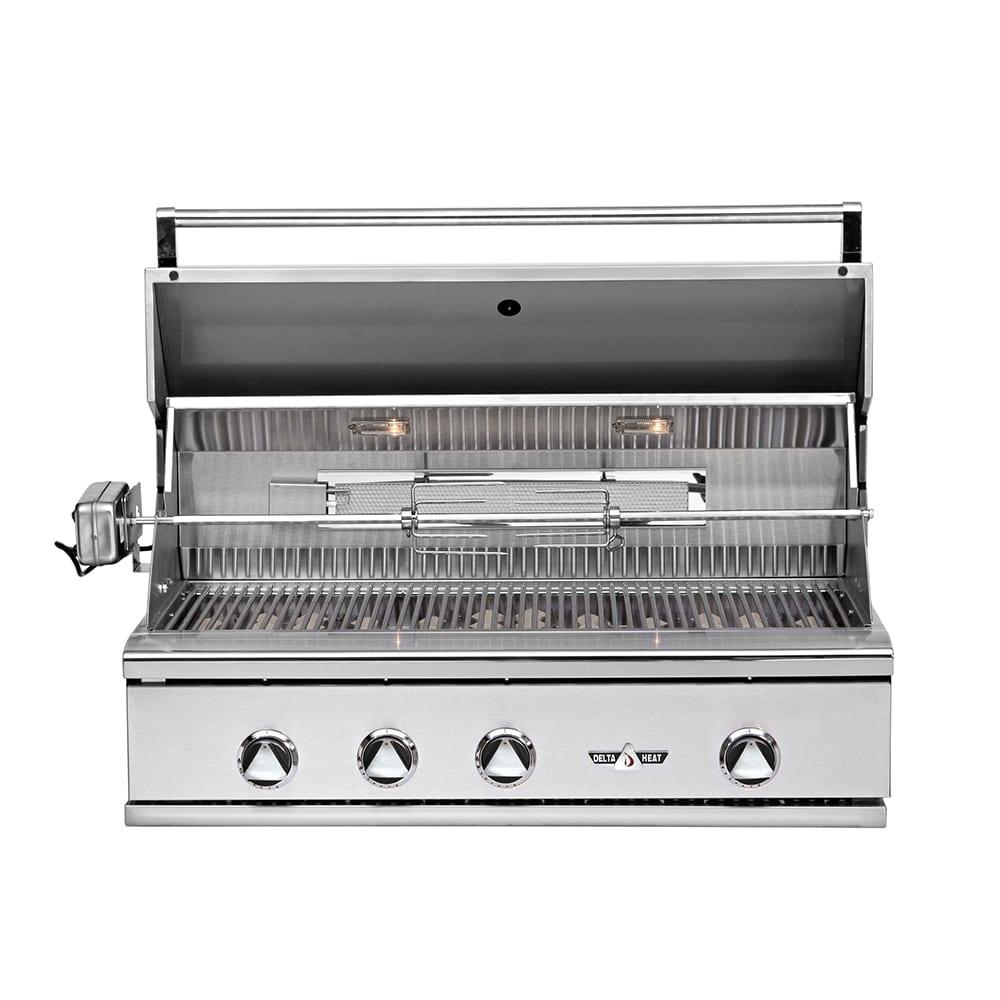 Delta Heat 38 Inch Built In Gas Grill Luxapatio Com