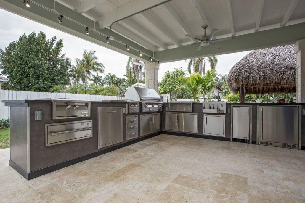 outdoor kitchen designs in miami tiki huts in miami