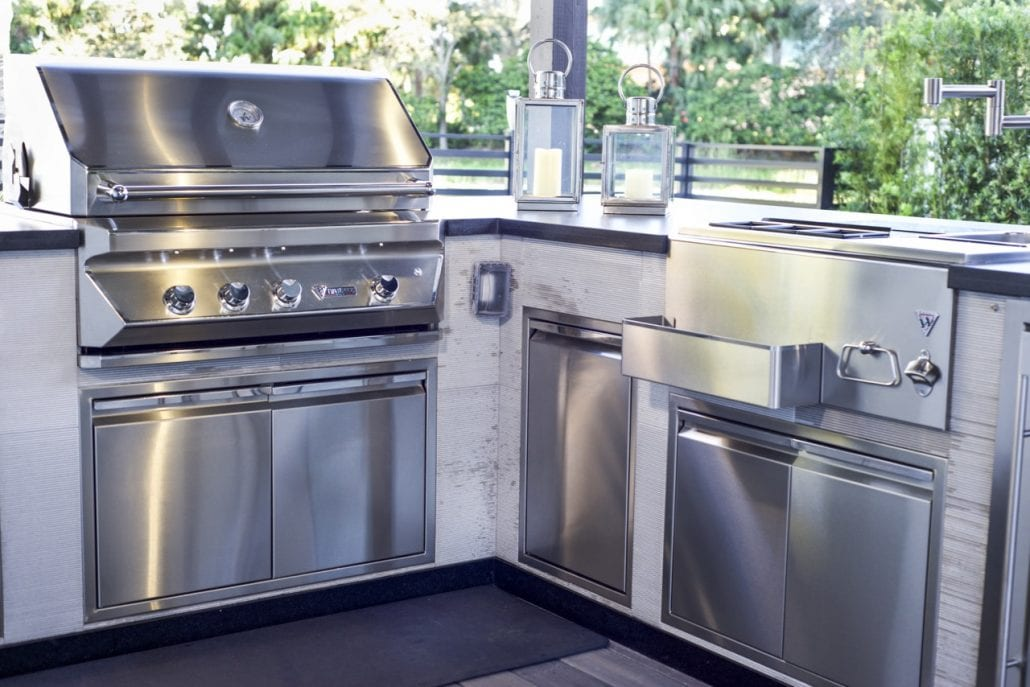 A New Powered Gas Grill In Colorado