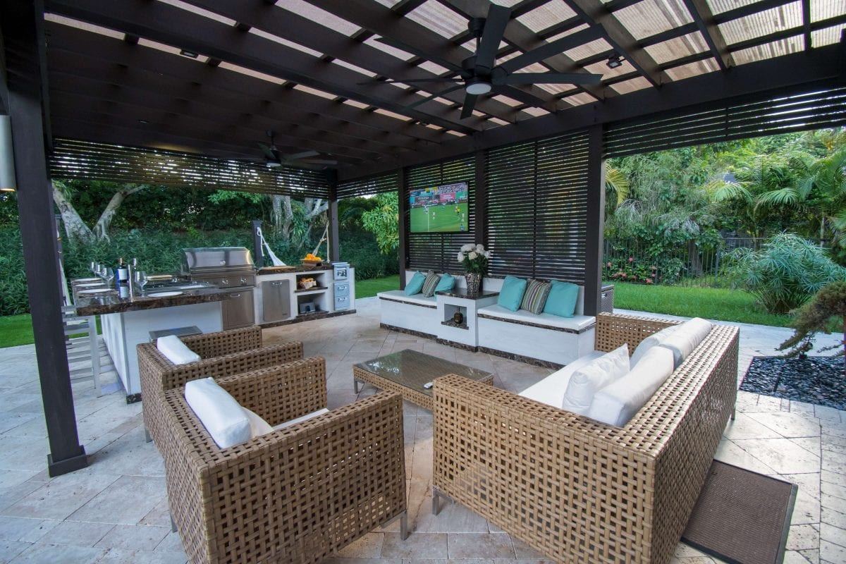 Live Outdoors Weston Florida Luxapatio