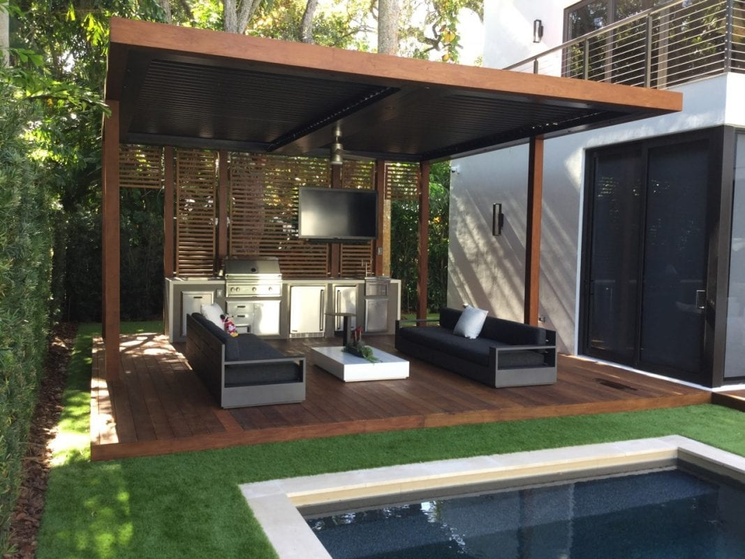 pool side cabana - luxapatio