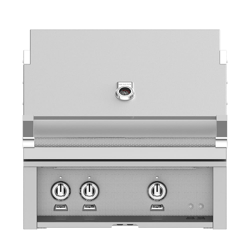 30 Inch Belvedere White Bathroom Vanity W Marble Top: Hestan 30 Inch Stainless Steel Built-In Grill With