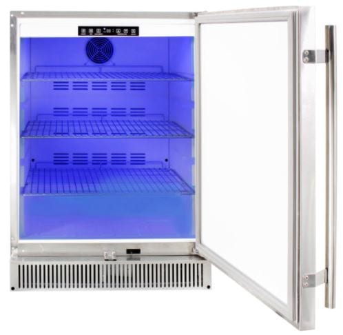 Blaze Outdoor Rated Stainless 24 Refrigerator 5 2 Cu Blz