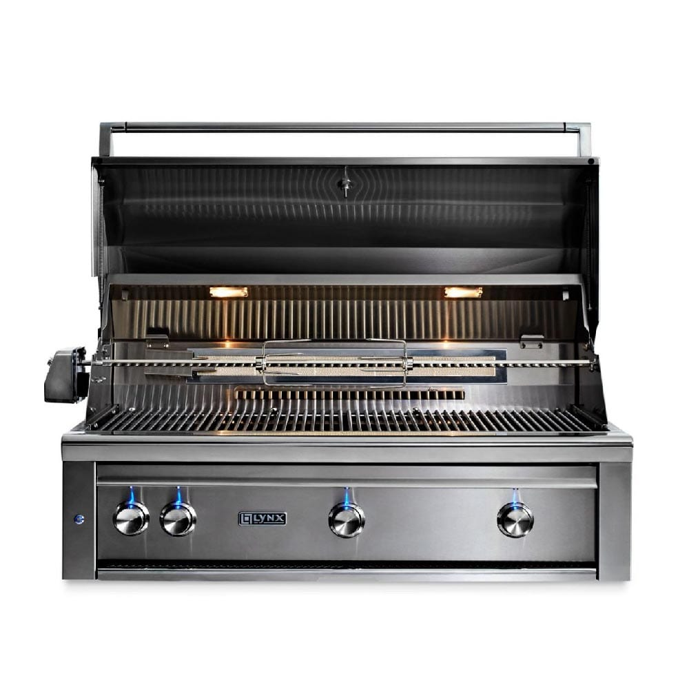 Lynx 42 Quot Built In Gas Grill With All Trident Infrared